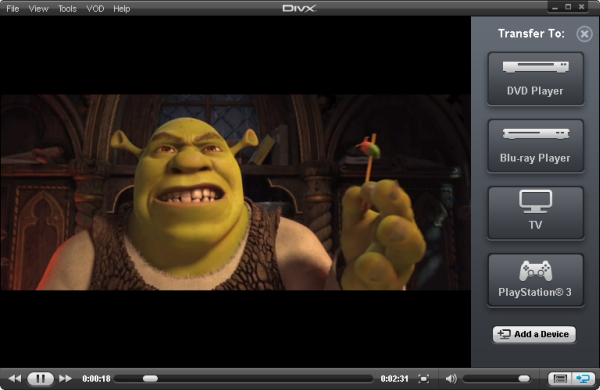 DivX Player to Play 4K Videos