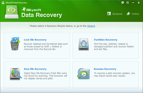iSkysoft Data Recovery software recover almost everything from Windows computer, flash drive , memory card, external hard drive, camcorder, digital camera and many other devices.