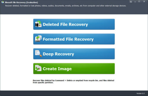 Jihosoft Windows 10 File/Data Recovery helps you recover deleted/formatted/lost documents, emails, photos, videos, music, etc from PC hard drive and external storage on WWindows 10 pc