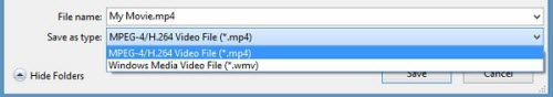 Convert WLMP to WMV and MP4