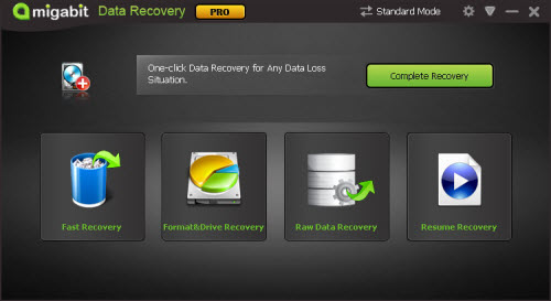 Amigabit Data Recovery retrieves your lost videos, photos, music, documents, emails, etc. from your PC's hard drive as well as from USB drives, external hard drives, mobile phones and other storage media.