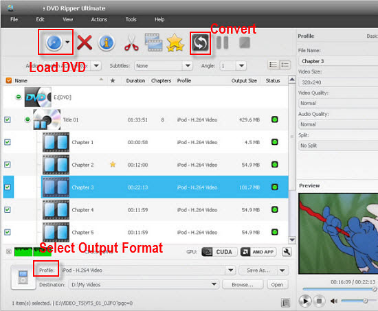UFUShare DVD Converter Ultimate overview