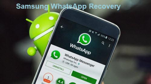 Samsung WhatsApp Recovery