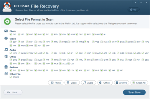 recover files from Sony HDR-PJ410