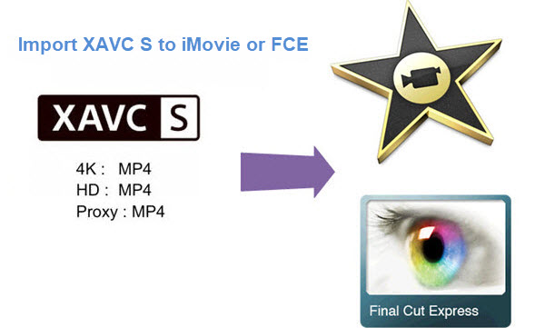 XAVC S files to imovie/fce
