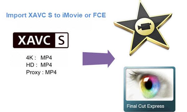 XAVC S files to Final Cut Express/fce