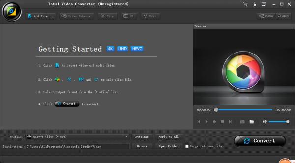 DJI 4K Video Converter