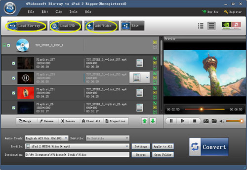 4Videosoft Blu-ray Ripper is an all-in-one Blu-ray DVD Ripper which can rip Blu-ray movies and M2TS file to videos and HD videos with ease.