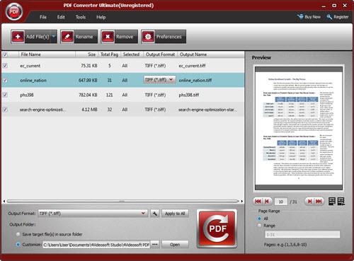 import PDF file(s)
