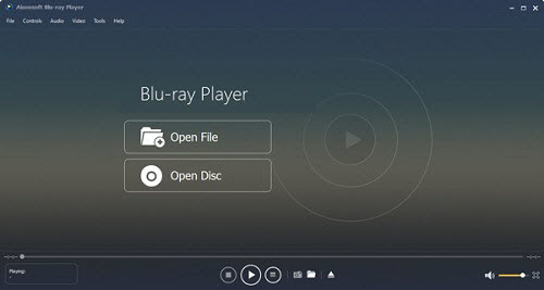 Aiseesoft Blu-ray Player is the best media player software, which not only allows you to play Blu-ray movie/disc/folder and ISO image file fluently and clearly, but also can play 4K MP4 AVC/H.264, H.265/HEVC, WMV, MOV, MKV video for free.