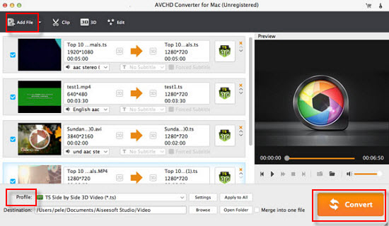 AVCHD to ProRes Converter-convert AVCHD to ProRes for FCP on Mac