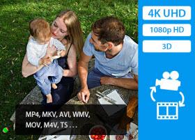 Convert multiple videos to 4K Ultra HD videos for better enjoyment