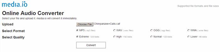CAF File Converter-How to Convert CAF Audio to MP3 on
