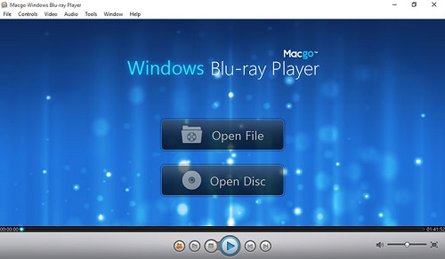 Macgo Windows Blu-ray Player Software can help you easily play Blu-ray/DVD disc, ISO, BDMV and other media formats with up to 1080P HD quality and DTS 5.1 system on all Windows operating system, including Windows 10/8/7.