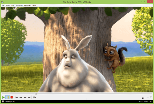 Media Player Classic to Play 4K Videos