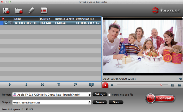 Pavtube Video Converter (for Mac)