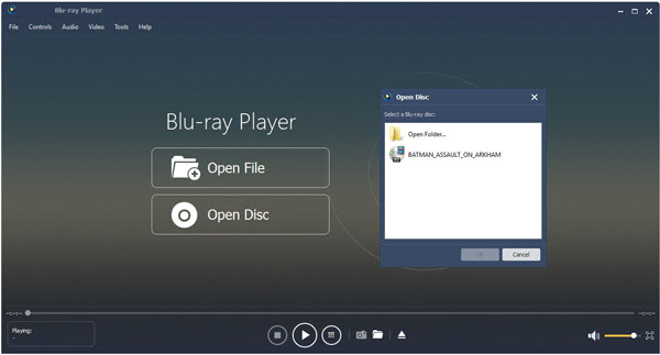 Windows 10 Blu-ray Player Software