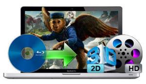 Rip Blu-ray to 2D/3D Videos