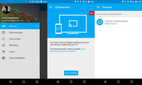 VLC to Chromecast on Android