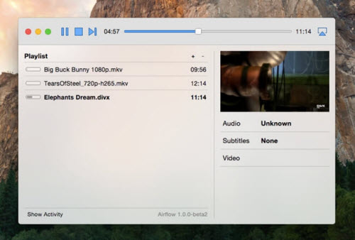 VLC to Chromecast Mac